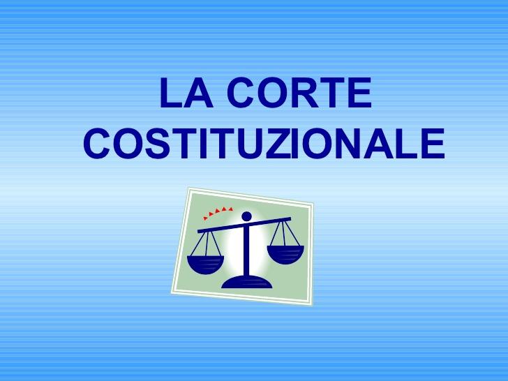 la corte costituzionale 1 728