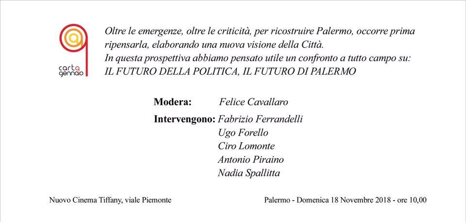 Futuro politica Palermo