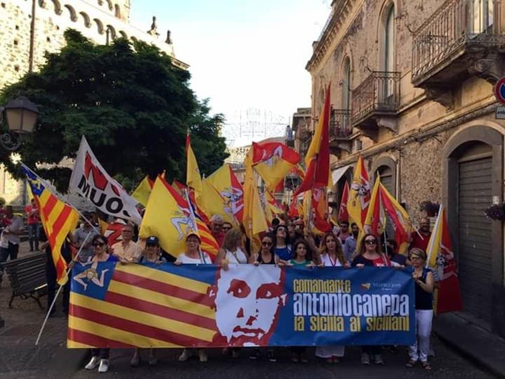 Canepa manifestazione