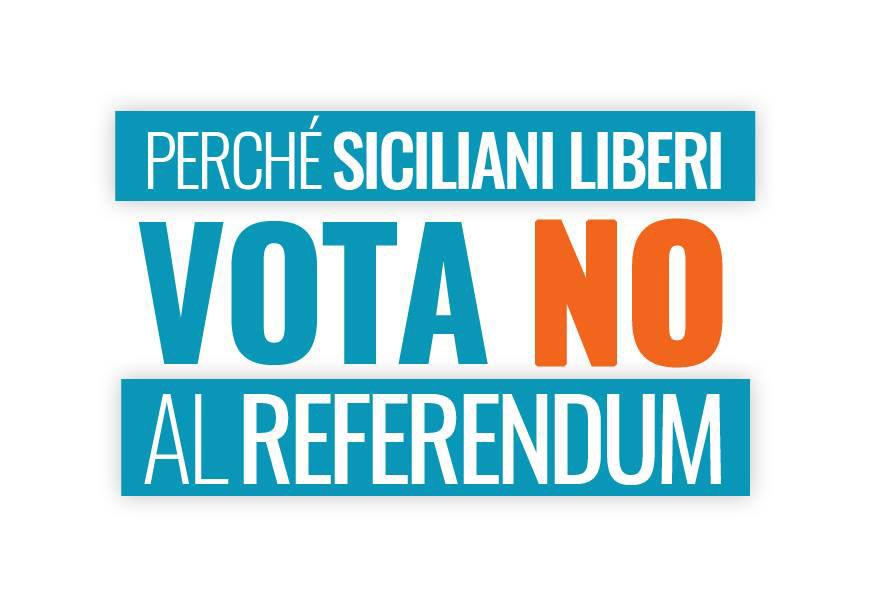 siciliani liberi vota no al referendum