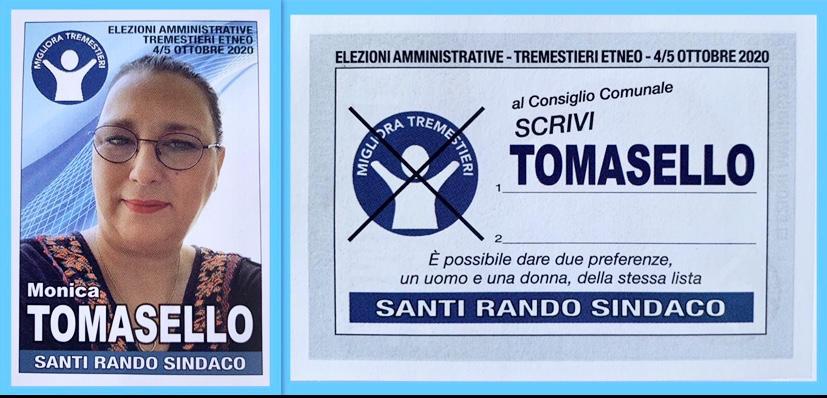 tomasello candidata siciliani liberi tremestieri etneo